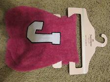 NWT JUICY COUTURE $30 Pink Soft Pet Dog Hood Jacket Coat  Medium M