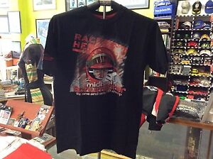 MICHAEL-SCHUMACHER-CHALLENGE-TOUR-2011-BLACK-T-SHIRT-SIZE-MEDIUM