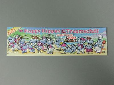 100/% original BPZ Happy Hippo Traumschiff u.r PUZZLE