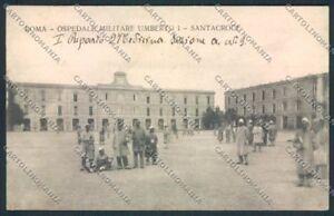 Roma-Ospedale-Militare-Santacroce-cartolina-MV1721