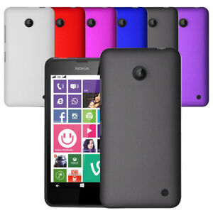 best authentic 3a402 e539d Details about For Nokia Lumia 635 630 Slim Hybrid Hard Case Clip On Cover &  Screen Protector