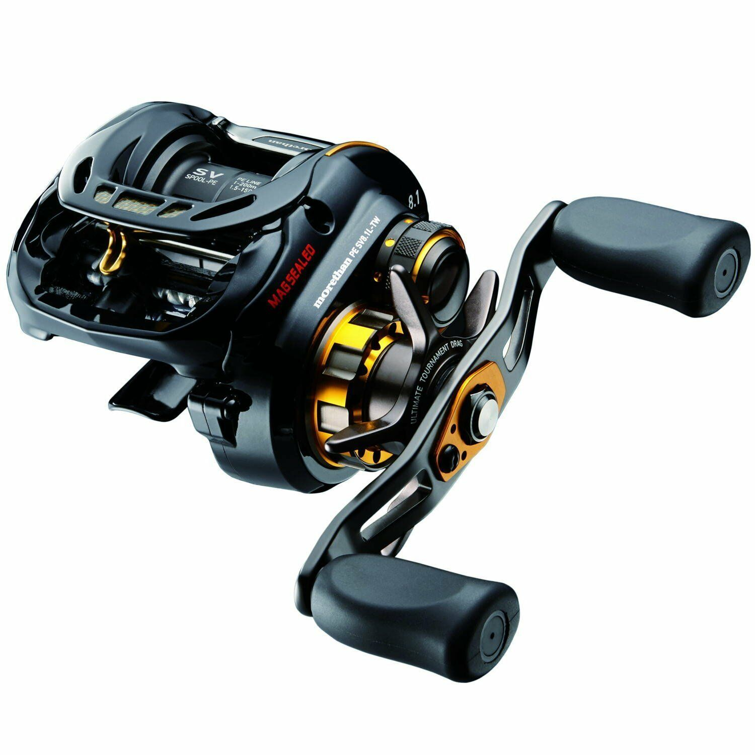 Daiwa MORETHAN PE SV8.1L-TW Left handle Saltwater Baitcasting Reel New