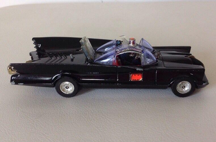 Vintage CORGI 1960 S 70 S Batman Batmobile  267 Die cast voiture attelage BATMAN FIGURE