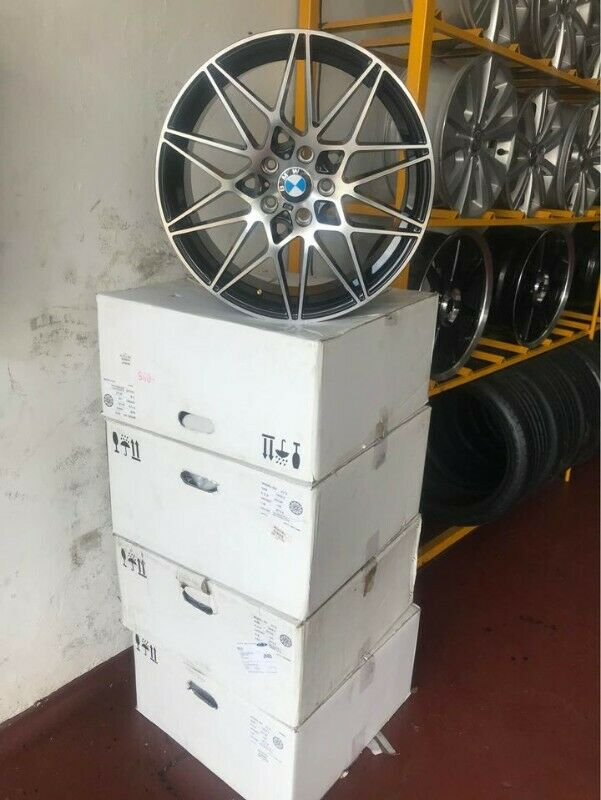 Brand new f30 narrow and wide 5/120 19 inches mags wheels for sale