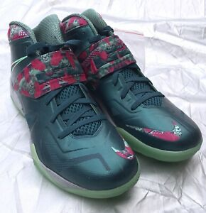 249a10bde545 2013 Nike Zoom Soldier VII 7 LBJ Lebron James Power sz 13 Basketball ...