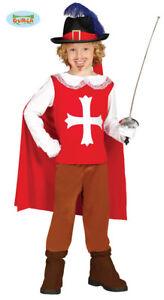 05b841317dff Caricamento dell'immagine in corso GUIRCA-Costume-vestito-D-039-Artagnan -moschettiere-carnevale-