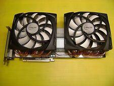 AMD Radeon HD6990 4G GDDR5 PCI-E DVI-I QUAD Mini DP with Accelero Twin Turbo