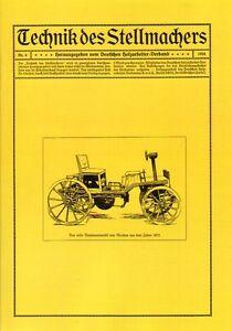 Technik-des-Stellmachers-Nr-4-1924-Stellmacher-Wagner-Wagenbau-Wagnerei-Reprint