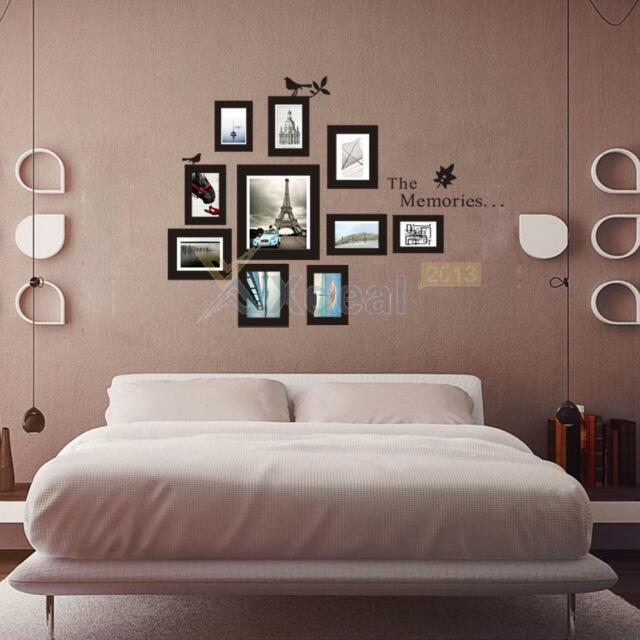 Pictures Photo Frame the Memories Wall Decal Sticker Wall Art Living Room Decor