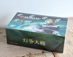 MTG-Magic-the-Gathering-War-of-the-Spark-booster-box-Japanese-Wizards-the-Coast