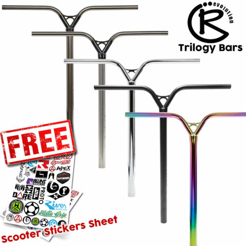 SCS All Colours HIC Revolution Trilogy Stunt Scooter Handle Bars