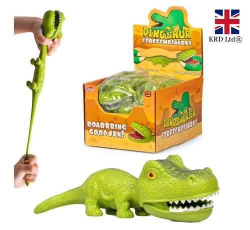 Stretchy Dinosaur STRETCHOSAURUS Kids Birthday Party Bag Stocking Filler Roy UK