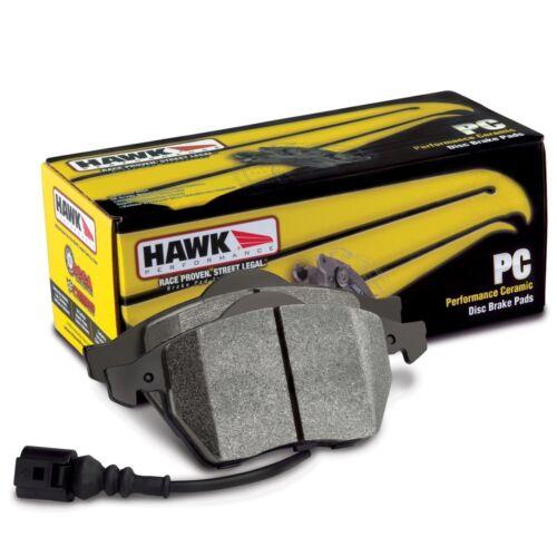 Disc Brake Pad Set-Base Front Hawk Perf HB512Z.605