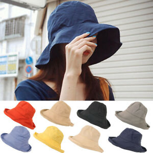 b9b07e0fe69 Women Men Outdoor Beach Unisex Big Shade Sunscreen Fisherman Cap ...