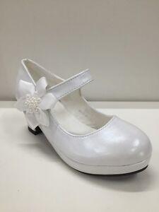 c7f9fa7ce632f Caricamento dell immagine in corso scarpe-bimba-bambina -ballerine-tacco-grosso-cerimonia-888-
