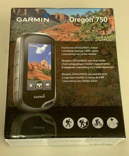 Garmin Oregon 750 Handheld Geocaching Gps W Camera 010 01672 20