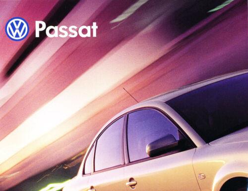 2000 VW Volkswagen Passat Original Car Sales Brochure