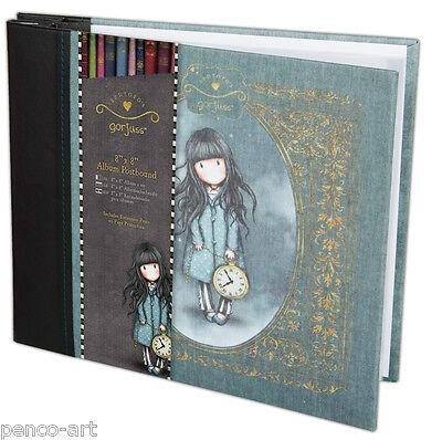 Papermania Scrapbook Alben 20.3x20.3cm Santoro's Gorjuss +10 Schutzhüllen