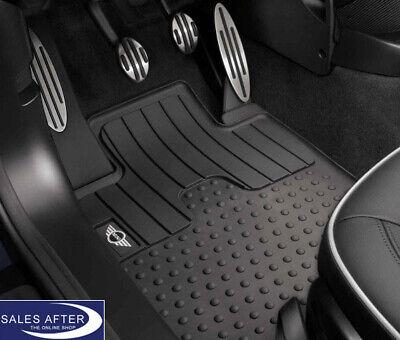 Original Mini R57 Cabrio Gummifußmatten Allwetter-Fußmatten mit Cooper S Logo