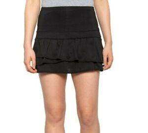 LUCKY IN LOVE tennis skirt Pleat Tier Tennis Skort White  sz Medium NEW