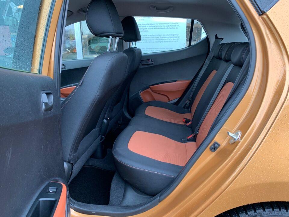 Hyundai i10 1,0 Go Air Benzin modelår 2016 km 62000