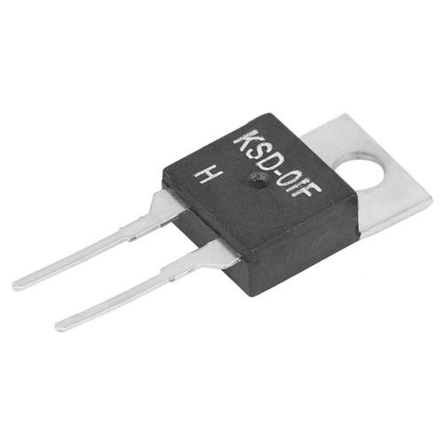 130℃ ❤ JUC-31F KSD-01F NO Temperaturschalter Steuerschalter Thermoschalter 40℃