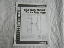 Case Caseih Magnum 8900 Tractor Steel Wheel Product Information Brochure