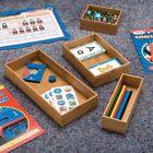 Seville Classics 5-Piece Storage Box Drawer Organizer Set with 3 Compartment