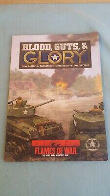 Blood, Guts, & Glory Tank Battles In Lorraine Libro Regole In Inglese English Perfetto Nella Lavorazione