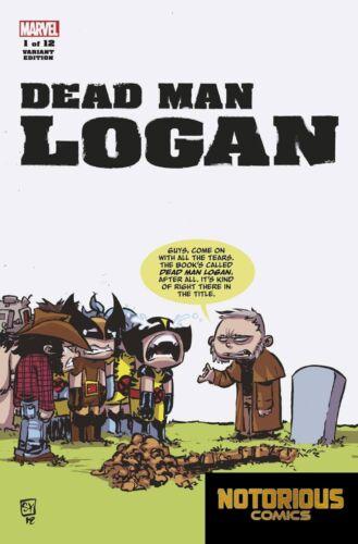 Dead Man Logan #1 Skottie Young Variant Marvel Comics 1st Print 11//28