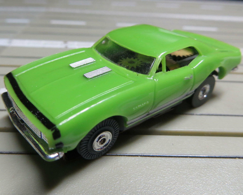 Per H0 Slotcar Racing Modellismo Ferroviario 1969 Chevrolet Camaro con T-Jet