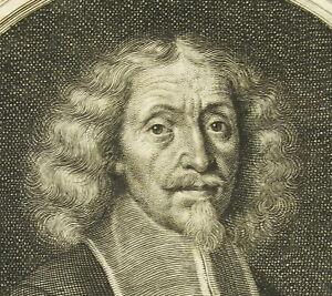 Antique-Print-Benhelmann-Manhaus-Burgermeister-1680-Philipp-Kilian-Sc-Beijschlag