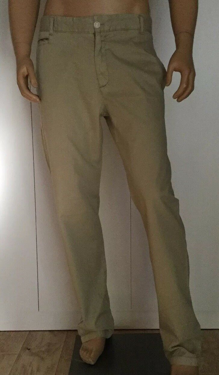 RIVIERA CLUB BEIGE KHAKI Men's Pants Size 32