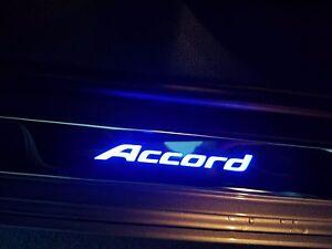 Image Is Loading New Genuine Honda Accord Sedan Illuminated Door Sill
