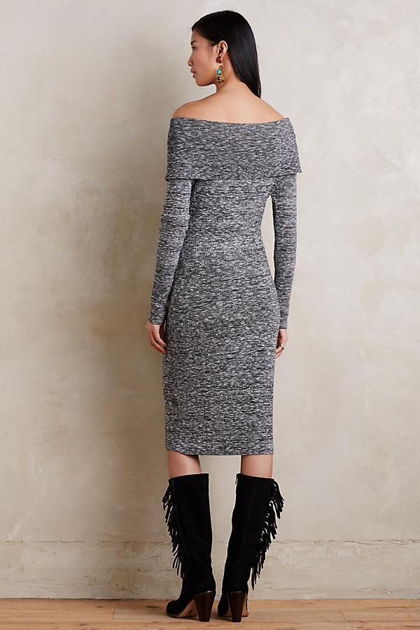 NWT  148.00 Anthropologie Anthropologie Anthropologie Sojourn Sweater Dress by Moth, XL, Off-shoulder e2210f