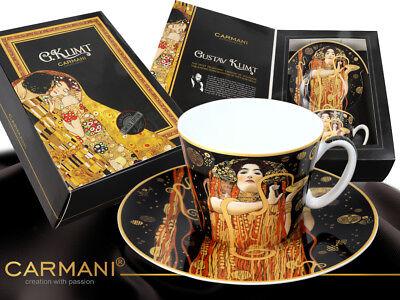 Gustav Klimt Die Familie Tasse Geschenk Karton 0,3L  1.Wahl The Family 300ml