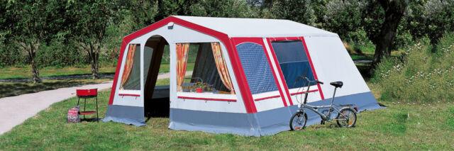 DWT Steilwandzelt Villa 6 Familienzelt Camping Hauszelt Outdoorzelt Touringzelt