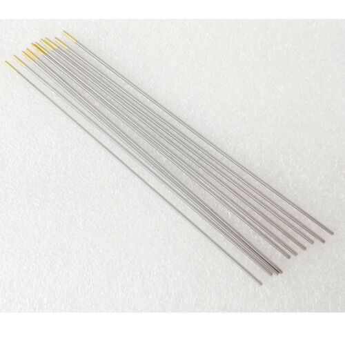 10pcs WL15 1.5/% Lanthanated Tungsten Electrodes For Carbon Steel DC TIG Welding