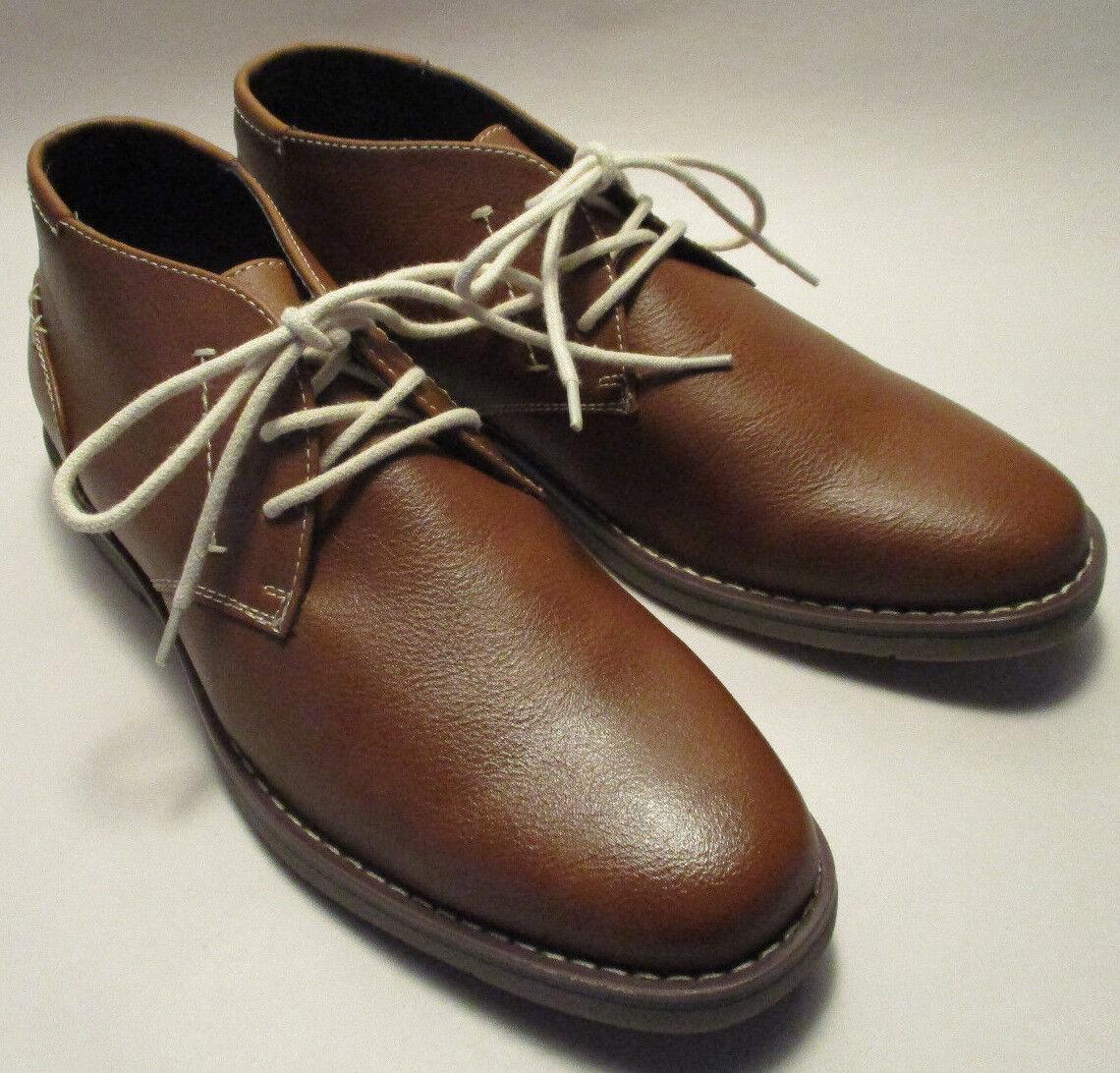 New in Box Arizona Ssilver Chukka Mens 8M Tan Lace Up Padded shoes