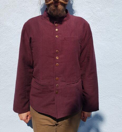 XXL Mandarin Grandad Kurta Hipster Long Style M Men/'s Nehru Collar Jacket