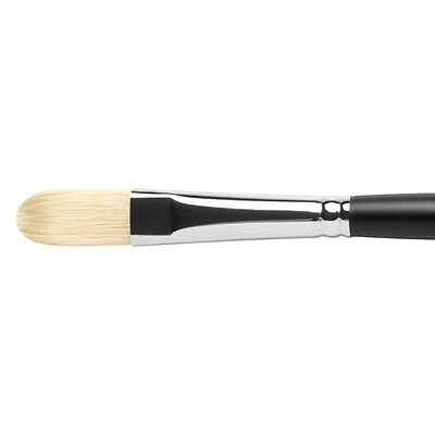 No.2 Black Hog Bristle Brush JAcksons Filbert