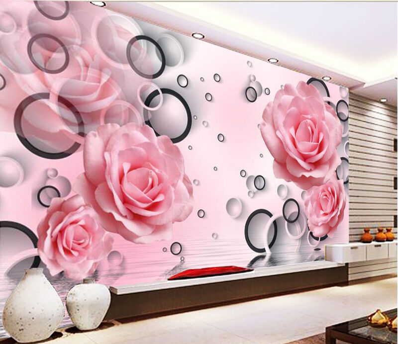 3D Flower shadow 2311 Wall Paper Wall Print Decal Wall Deco Indoor Wall Murals