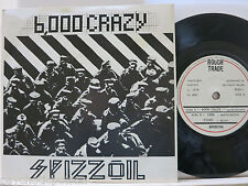 "SPIZZOIL  -   6000 Crazy  7"" Vinyl - Spizzenergi  1978 ROUGH TRADE (UK) - RTSO-1"