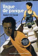 Vague de Panique * Aubert & CAVALI * Gallimard Jeunesse Mystère enquête polar