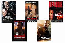 DIE HARD FILMS - SET OF 5 - A4 FILM POSTER PRINTS # 1