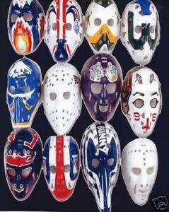 Vintage Hockey Goalie Mask Nhl 8x10 Photo 2 Ebay