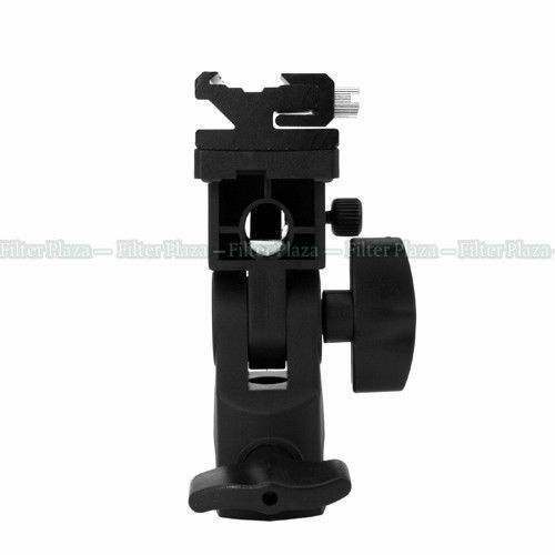 Flash Hot Shoe Adapter Umbrella Holder Swivel Light Stand Bracket B Canon Nikon