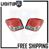 Fits 11-12 Chevrolet Cruze Tail Light/lamp Pair (left And Right Set)