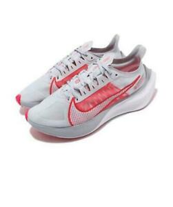 Nike-Zoom-Gravity-Women-039-s-Pure-Platinum-Red-Orbit-White-Shoes-Sz-US-7-BQ3203-003