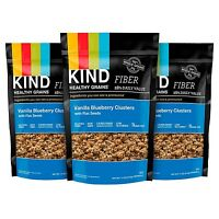 Kind Healthy Grains Granola Clusters Vanilla Blueberry With Flax Seeds Gluten...